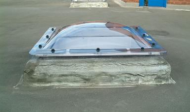 Mark 1 Rooflight in-situ