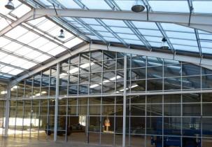 Dunbar Garden Centre Roof Glazing