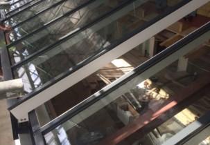 St Marys Abbotts House Telescopic Sliding Rooflight 1