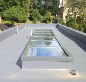 Little Lindisfarne - Mk8 Mono-Pitch Glass Rooflight